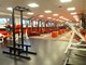 Weight training area