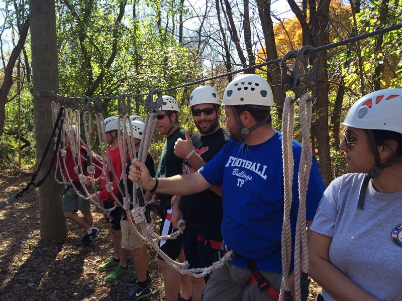 Marist_faculty_retreat_high_ropes