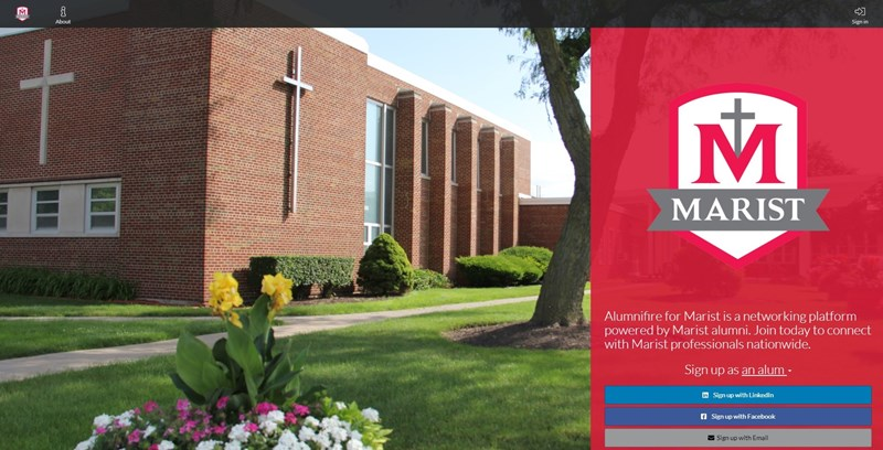 Alumnifire_for_Marist_homepage