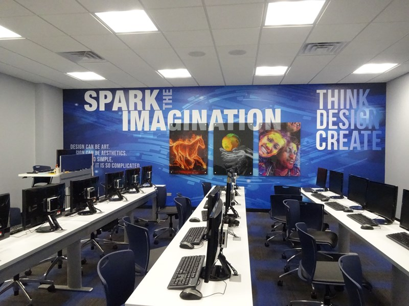 Digital Design Studio Opens - Academics | Marist High School