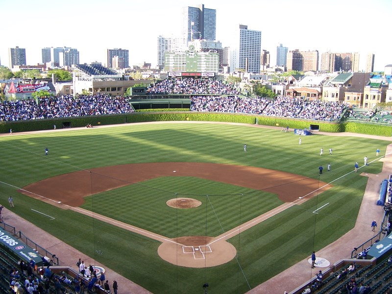 Champs_central_du_Wrigley_Field